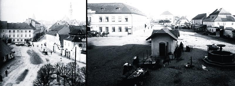 Křižíkovo náměstí koncem 19.století.